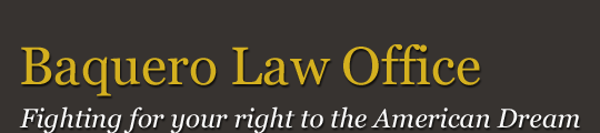 Baquero Law Office logo